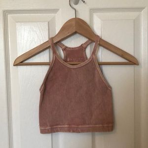 Free People Movement washed tank top